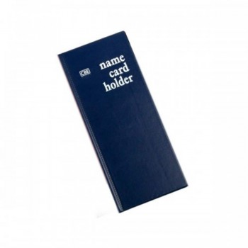 CBE N240 PVC Name Card Holder - Blue (Item No: B01-17BL) A1R2B17