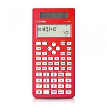 Canon F-718SA-RD Scientific Calculator (Red)