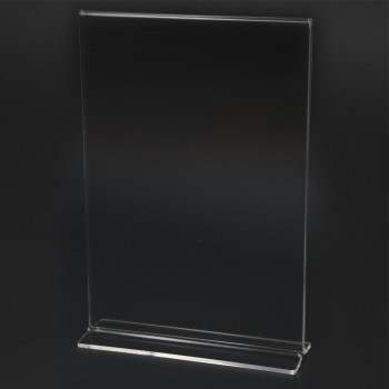 Acrylic Portrait A5 T-Shape Display Stand - 150mm W) x 210mm (H)
