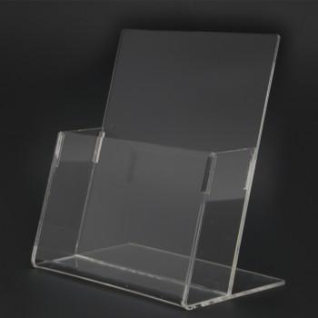 Acrylic A5 Brochure Holder Stand 1 Layer - 150mm (W) x 210mm (H)