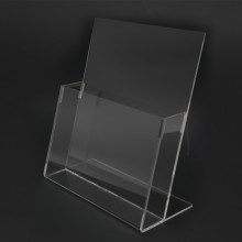 Acrylic A4 Brochure Holder Stand 1 Layer - 210mm (W) x 297mm (H)