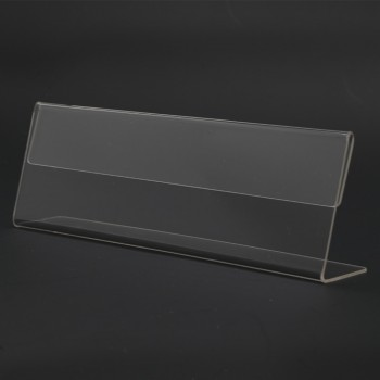 Acrylic T150 Card Stand - 150mm (W) x 55mm (H)
