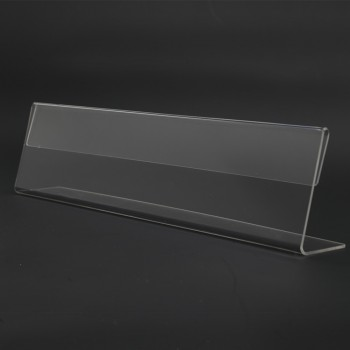 Acrylic T200 Card Stand - 200mm (W) x 55mm (H)