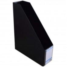 """EAST FILE PVC MAGAZINE BOX 412 5"""" BK (Item No: B11-96 BK)"""