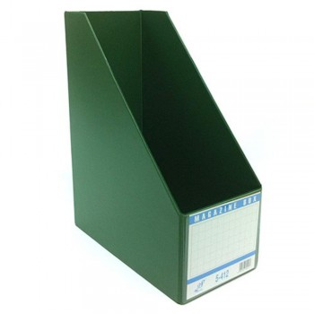 "EAST FILE PVC MAGAZINE BOX 412 4"" GR (Item No: B11-95 GR)"