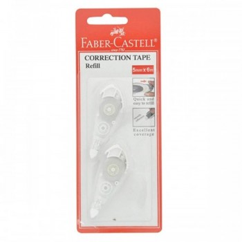 Faber Castel Correction Tape Refillable (Item No: A15-05) AA1R3B53