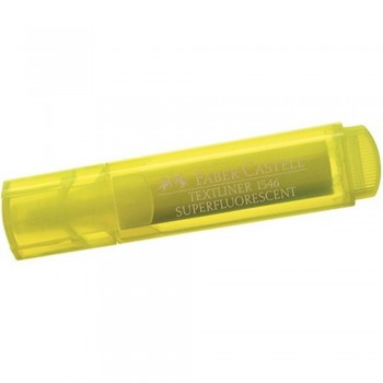 Faber Castell TEXTLINER 1546 Highlighter - YELLOW (Item No: 154607) A1R3B54