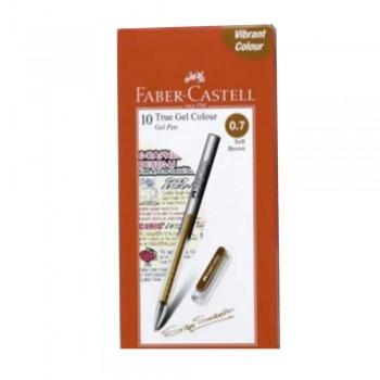 Faber Castell True Gel Pen 0.7mm Soft Brown (242676)
