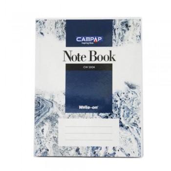 Campap Cw2304 F5 Pvc Cover Note Book 280P (Item No: C02-04) A1R4B118