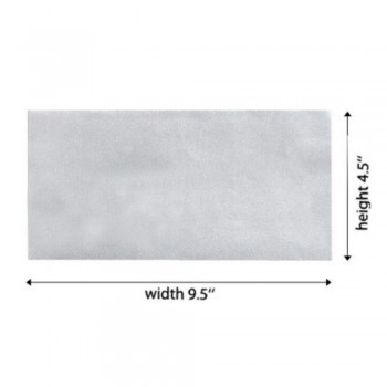 White Envelope - 100gsm - 500 PCS 9.5-inch x 4.5-inch (Item No: C03-13)