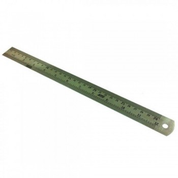 Stainless Steel Ruler - 12-inch / 30cm (Item No: B01-04) A1R2B4