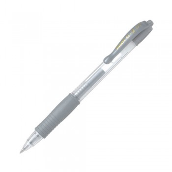 Pilot G2 Grip Gel Ink Pen 0.7mm Silver (BL-G2-7-SI)