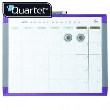 Quartet Magnetic Dry-Erase Calender MHOP1114