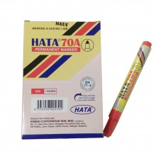 Hata Permanent Marker 70A Red