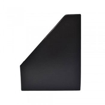 "3"" PVC Magazine Box File - Black"