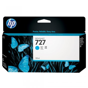 HP 727 130-ml Cyan Designjet Ink Cartridge (B3P19A)