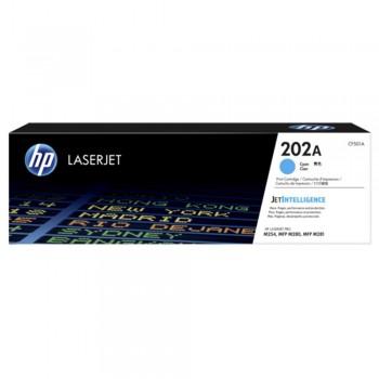 HP 202A Cyan LaserJet Toner Cartridge