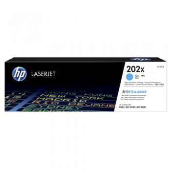 HP 202X Cyan LaserJet Toner Cartridge
