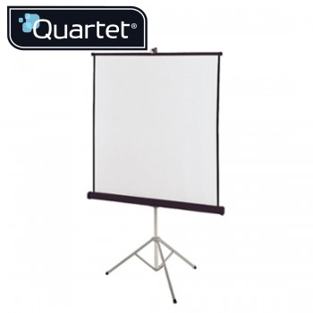 Quartet Portable Tripod Projection Screens 1500